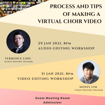 Process and Tips of Making a Virtual Choir Video
